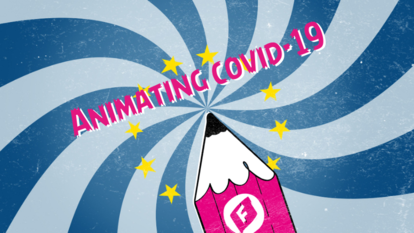 Animating Covid-19 Banner