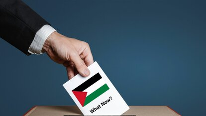 Voting in Palestine picture