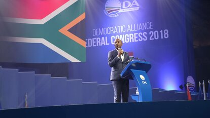 Mmusi Maimane, Vorsitzender der Democratic Alliance,