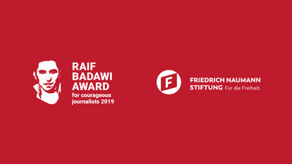 The annual Raif Badawi Award for Courageous Journalists. Nominate your candidate!