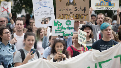 Demonstrationen von Fridays for Future
