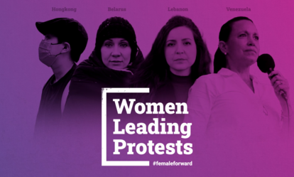 Women Leading Protests
